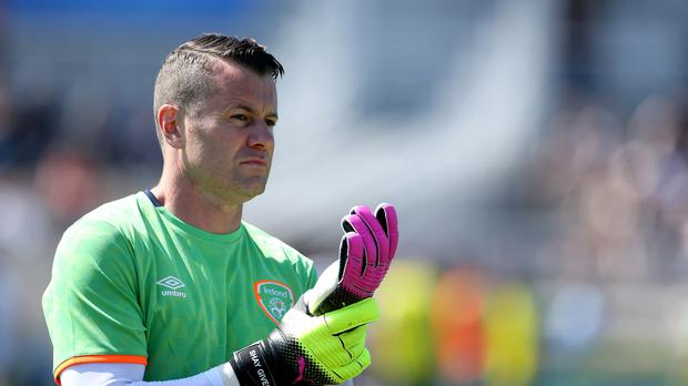 Republic of Ireland keeper Shay Given, whose international career has lasted more than 20 years