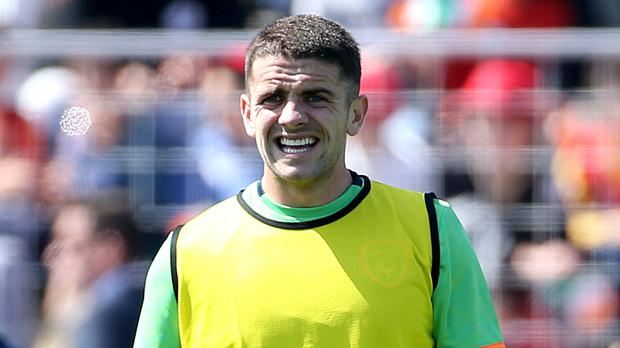 Robbie Brady is waiting to learn how he will be used against Sweden