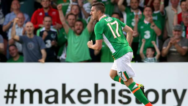 The Republic of Ireland's Stephen Ward is happy with preparations for Euro 2016