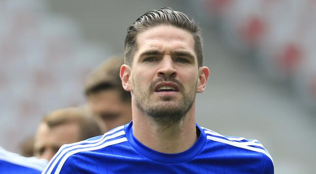 Northern Ireland's Kyle Lafferty recovered from a groin injury to face Poland