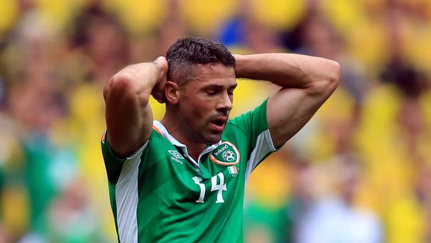 Jonathan Walters is a fresh injury concern for the Republic of Ireland