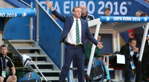 Michael O'Neill has plenty to consider ahead of the Ukraine game