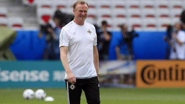 Michael O'Neill is enjoying life in France