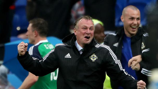 Michael O'Neill's Northern Ireland pulled off a shock by beating Ukraine