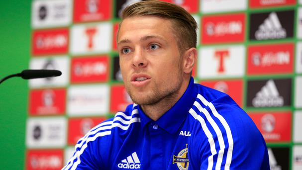 Jamie Ward has warned Germany that Northern Ireland will make it difficult for them
