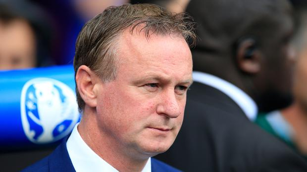 Northern Ireland manager Michael O'Neill resisted changing his starting line-up