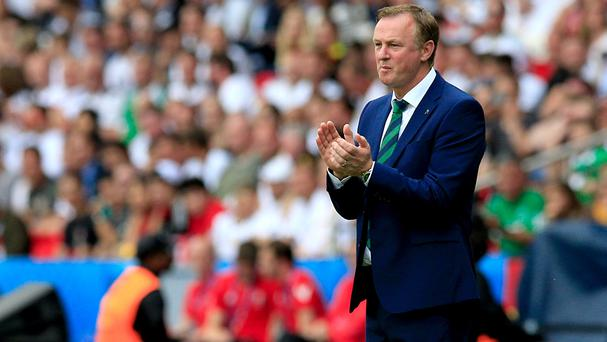 It is either Wales or France next for Michael O'Neill's Northern Ireland