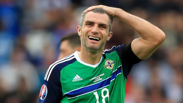 Aaron Hughes recently won his 100th cap