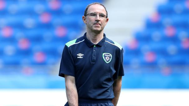 Republic of Ireland manager Martin O'Neill will go for broke against France on Sunday