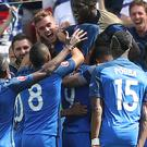 Antoine Griezmann's brace edged France past the Republic in Lyon