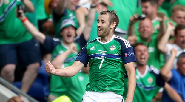 Niall McGinn is going from one European competition to another