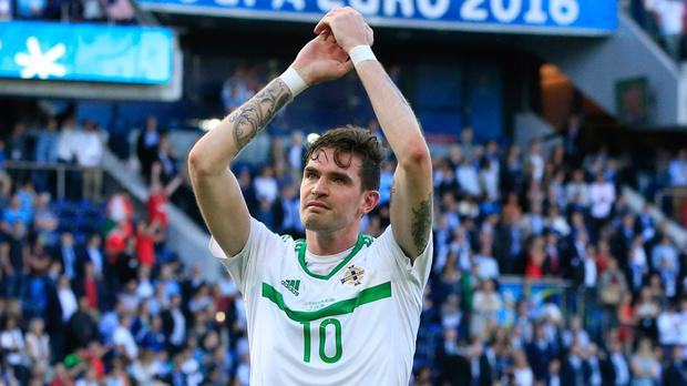 Northern Ireland striker Kyle Lafferty charged by FA