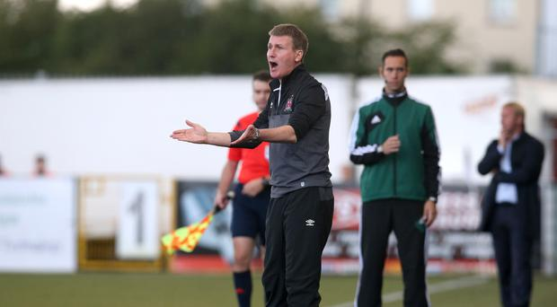 Dundalk FC manager Stephen Kenny saw his side beat BATE Borisov