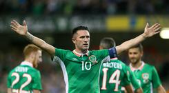 Robbie Keane netted 68 goals for the Republic of Ireland.