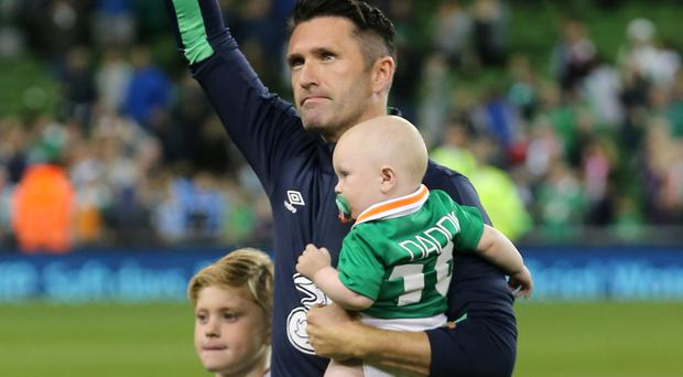 Robbie Keane played his last match for Republic of Ireland on Wednesday night