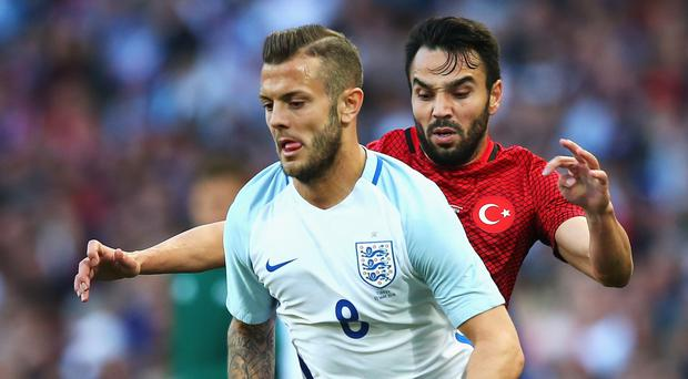 Fighting back: Jack Wilshere will be hoping to get back into the England frame with good displays for Bournemouth