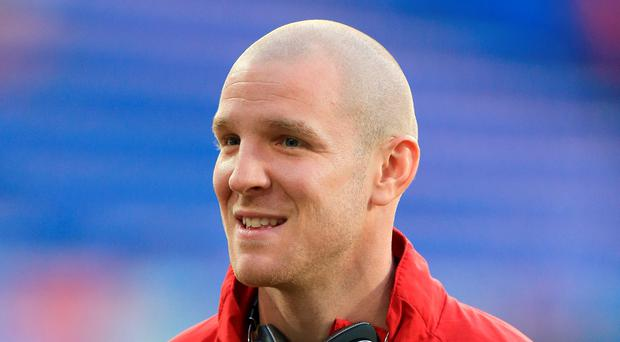 Big club: Philippe Senderos is aware of the expectations at Ibrox