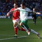 Staying put: Kyle Lafferty failed to land a deadline day move