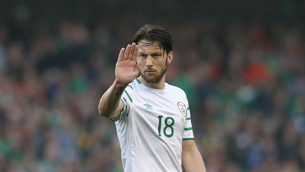 Republic of Ireland international midfielder Harry Arter