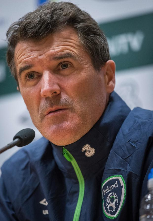 Fresh start: Roy Keane says the Republic must forget the Euros