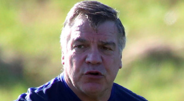 Debut: Sam Allardyce knows he needs a good showing against Slovakia