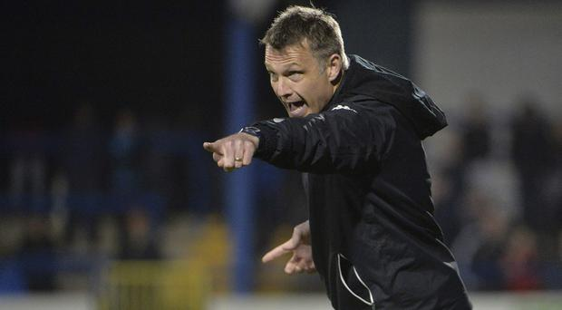 Gone: Alan Kernaghan resigned but, with the Glens seeking an eighth boss in 10 years, fears for the club's future have grown