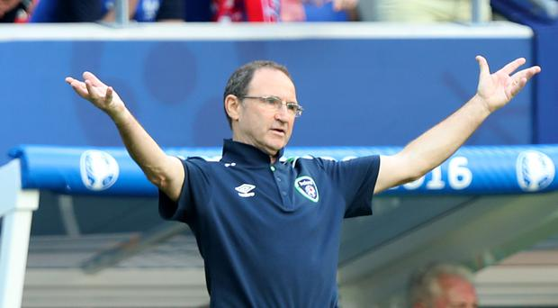 The Republic of Ireland and boss Martin O'Neill are waiting to see if their game is on