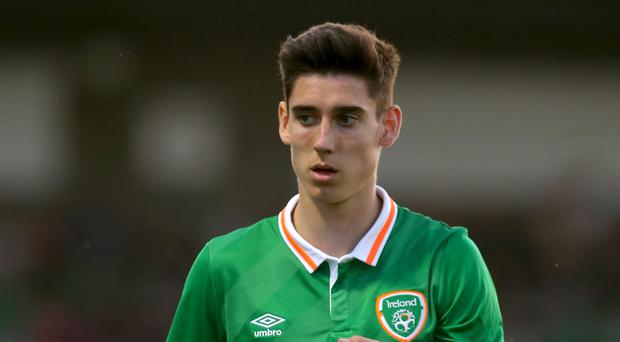 Callum O'Dowda returns to the Republic of Ireland Under-21s squad for the qualifer in Serbia