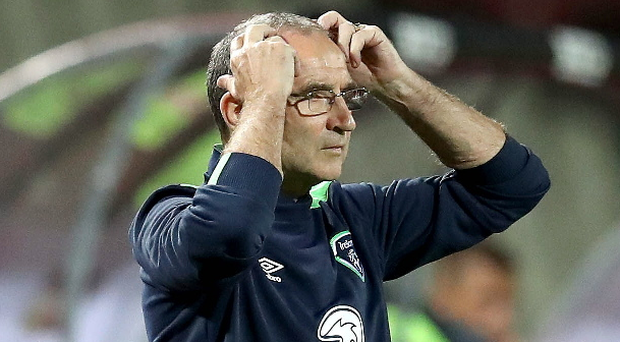 Waiting game: Martin O'Neill has not yet signed the deal he agreed with the FAI before Euro 2016