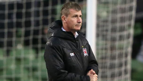 Dundalk manager Stephen Kenny was proud of his side's resiliency after their draw in Holland