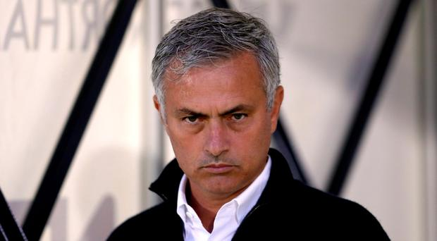 War path: Jose Mourinho has hit back after United's losing streak ended
