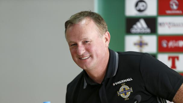 Michael O'Neill's side face San Marino and Germany.