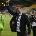 Stephen Kenny celebrates Dundalk's win