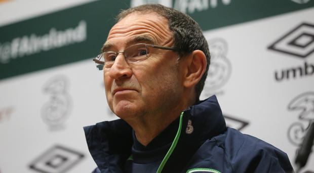 Republic of Ireland manager Martin O'Neill is facing an injury crisis