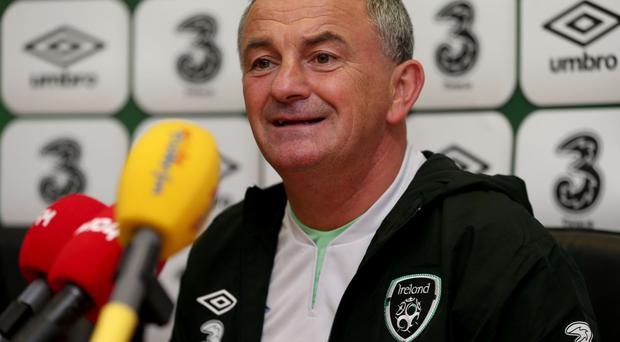 Republic of Ireland Under-21s manager Noel King is looking for a rousing finish to his side's qualifying campaign