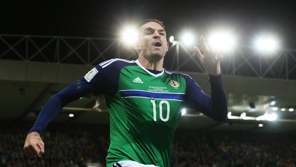 Kyle Lafferty bagged a brace for Northern Ireland