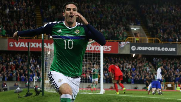 Kyle Lafferty is considered key to Northern Ireland's fortunes