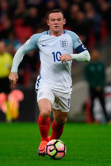 Wayne Rooney was booed by a section of the England crowd