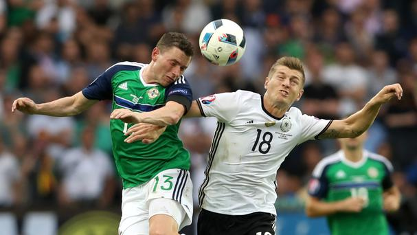Toni Kroos, right, was instrumental in Germany's win at Euro 2016