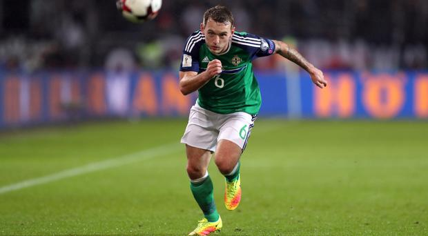 Lee Hodson came in and impressed for Northern Ireland
