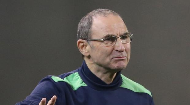 Martin O'Neill's Republic of Ireland team will take on Iceland in March