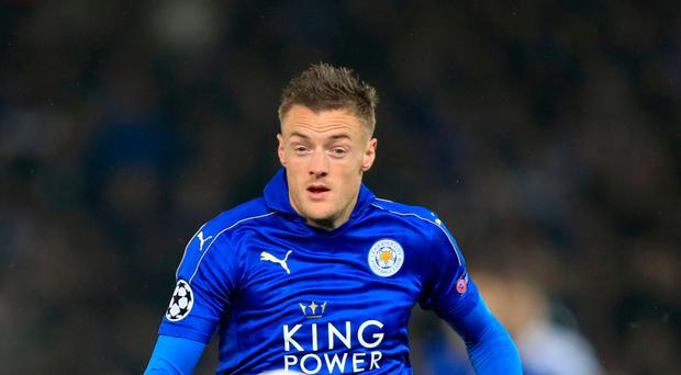 Leicester City's Jamie Vardy has been nominated for the Ballon d'Or