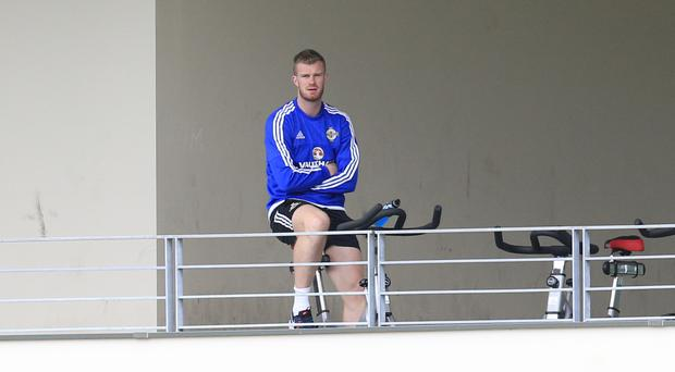 Chris Brunt could only watch on at Euro 2016 while he recovered from injury
