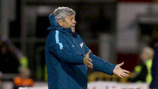 Mircea Lucescu will want to see Zenit St Petersburg get the better of Dundalk