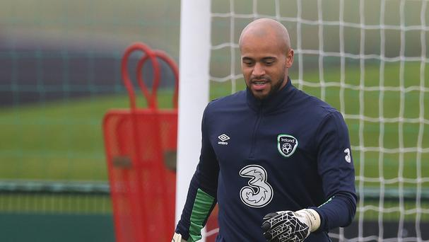Ireland goalkeeper Darren Randolph is hoping for a good end to the year