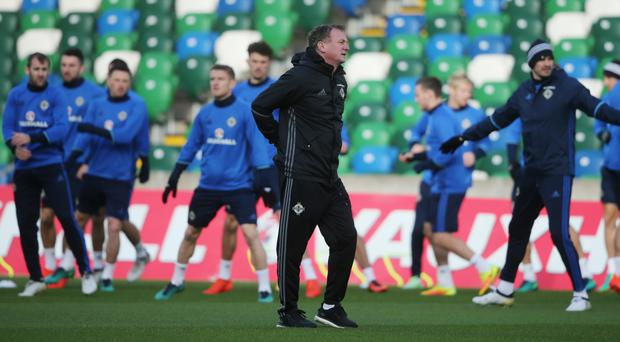 Northern Ireland manager Michael O'Neill does not want to lose ground on Azerbaijan