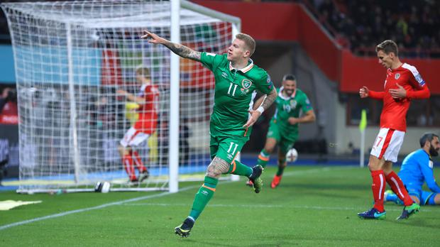 James McClean is growing on the international stage