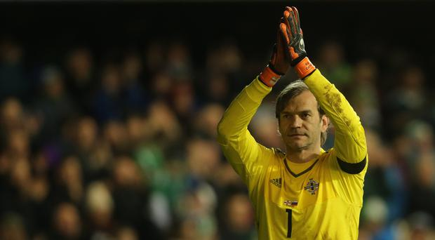 Roy Carroll has not appeared for Northern Ireland since before Euro 2016