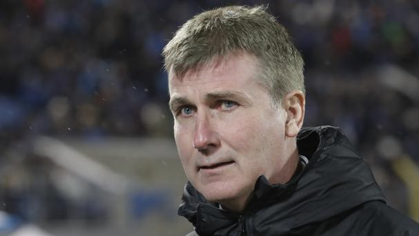 Euro adventure: Dundalk's head coach Stephen Kenny