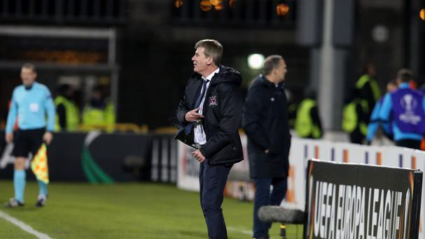 Dundalk manager Stephen Kenny was disappointed with his side's defensive lapses